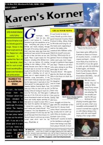 thumbnail of Newsletter July 2007