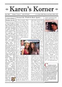 thumbnail of Newsletter July 2004