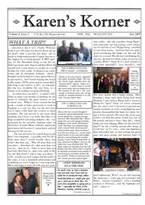 thumbnail of Newsletter July 2005