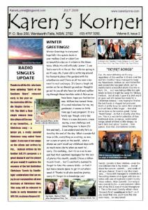 thumbnail of Newsletter July 2009