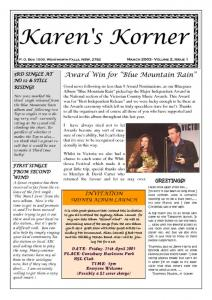 thumbnail of Newsletter March 2003