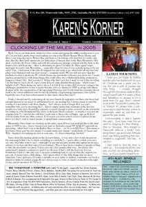 thumbnail of Newsletter March 2005