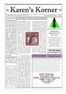 thumbnail of Newsletter November 2002