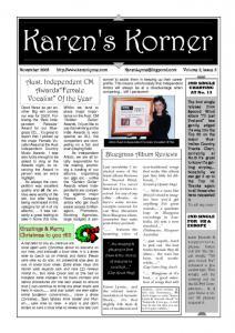 thumbnail of Newsletter November 2003