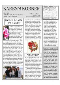 thumbnail of Newsletter November 2004