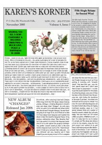 thumbnail of Newsletter November 2005
