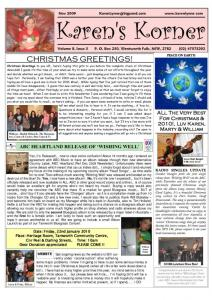 thumbnail of Newsletter November 2009